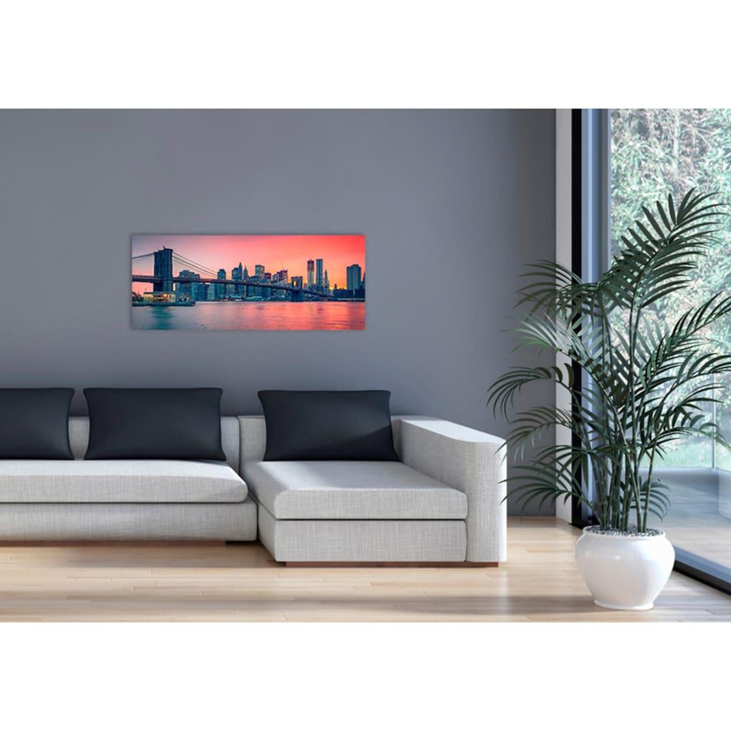 """Marmony Infrarotwandheizung »MOTIV-Heizkörper """"City Sunset"""" 83009, 800 Watt«, trocknet Wände und Mauerwerk, aus deutschem Jura-Naturstein"""