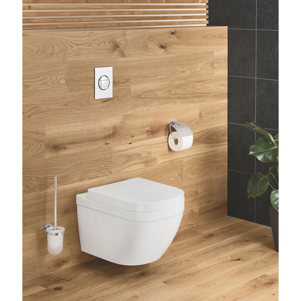 Grohe Toilettenpapierhalter »Essentials«, mit Deckel