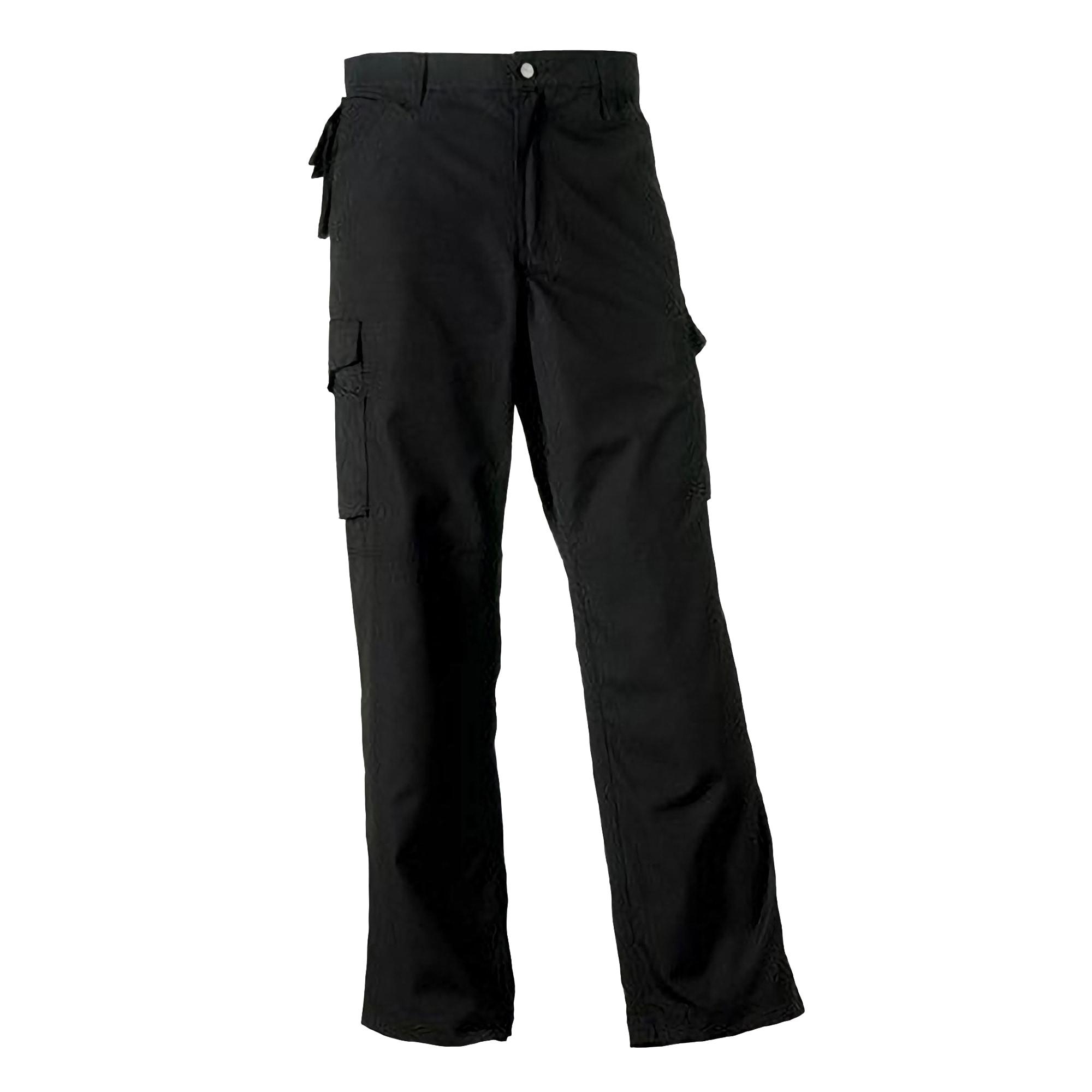 Russell Cargohose Work Wear Heavy Duty Hose für Männer Lange Beinlänge   Bekleidung > Hosen > Cargohosen   Blau