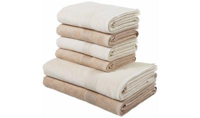 Handtuch Set, »Anna«, my home (Set) kaufen