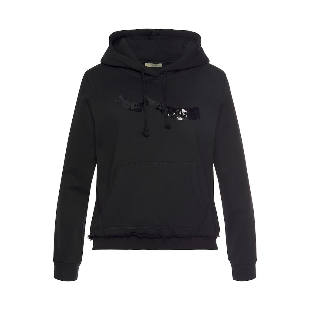 LTB Sweatshirt »ZONEDE«, mit glitzerndem Marken-Logo für das gewisse Etwas