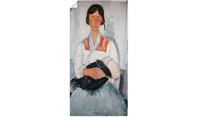 Artland Wandbild »Zigeunerfrau mit Kind. 1918« kaufen