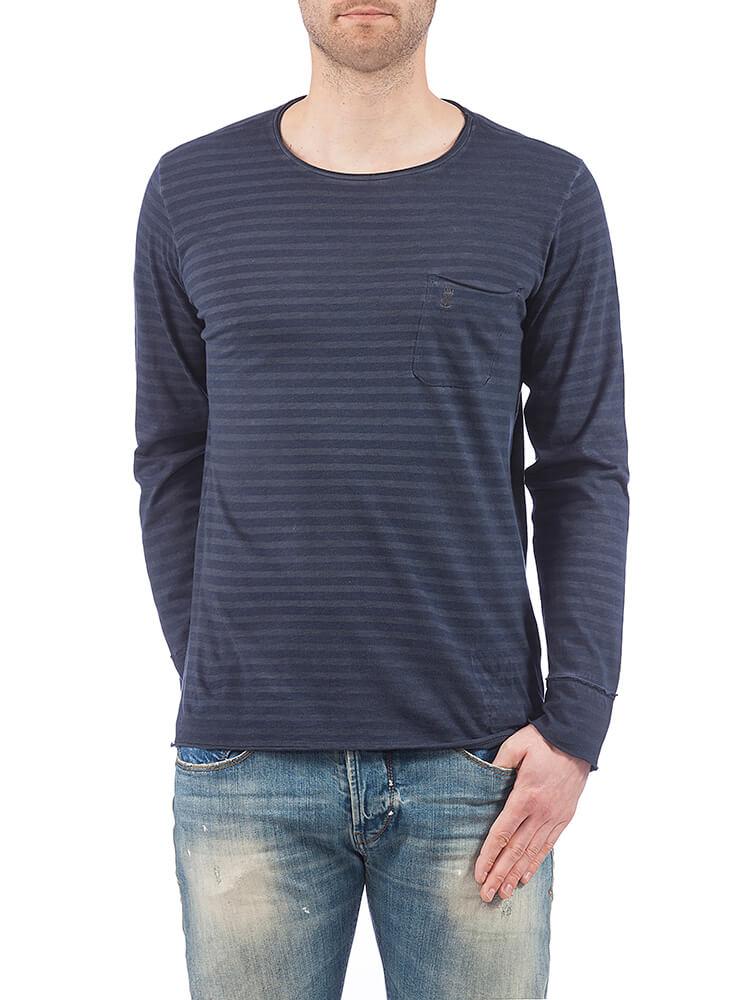 herrlicher -  Langarmshirt mit Brusttasche Ron