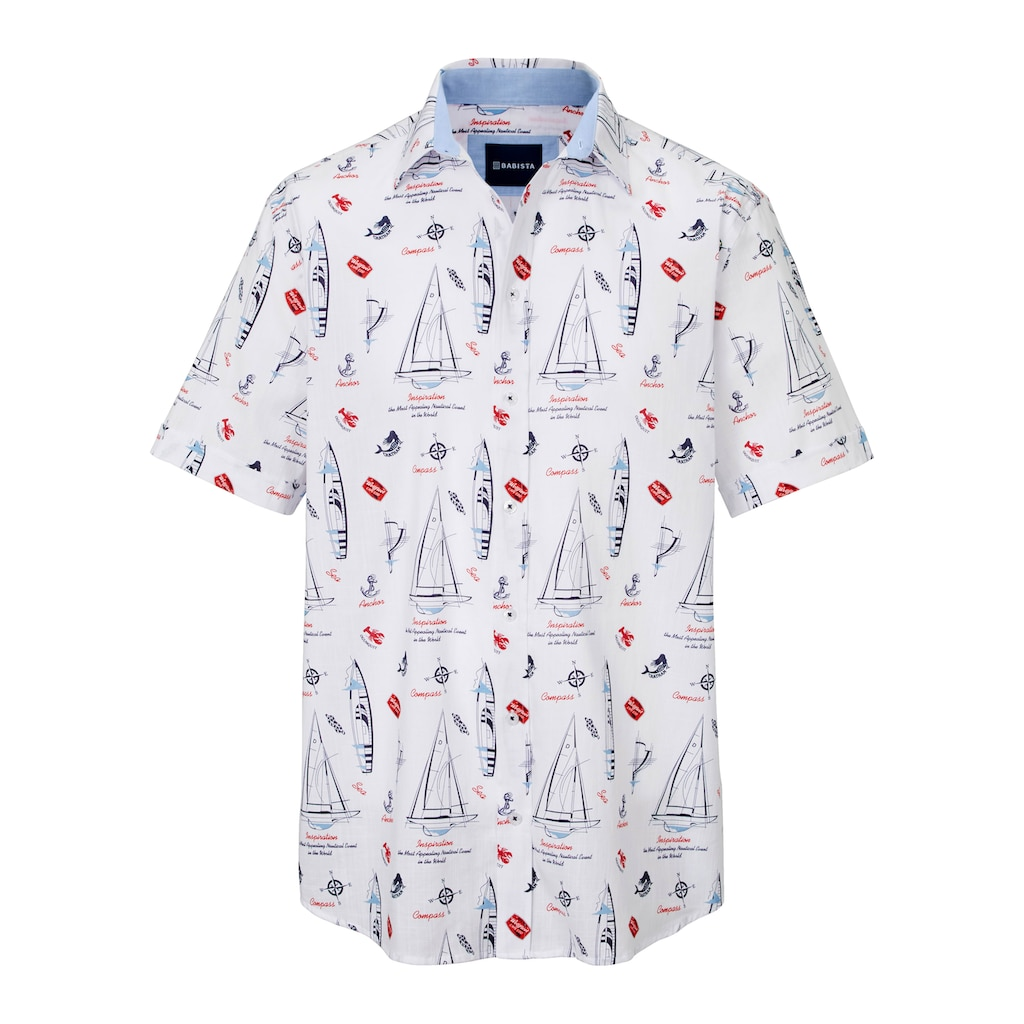 Babista Kurzarmhemd, in leichter Qualität