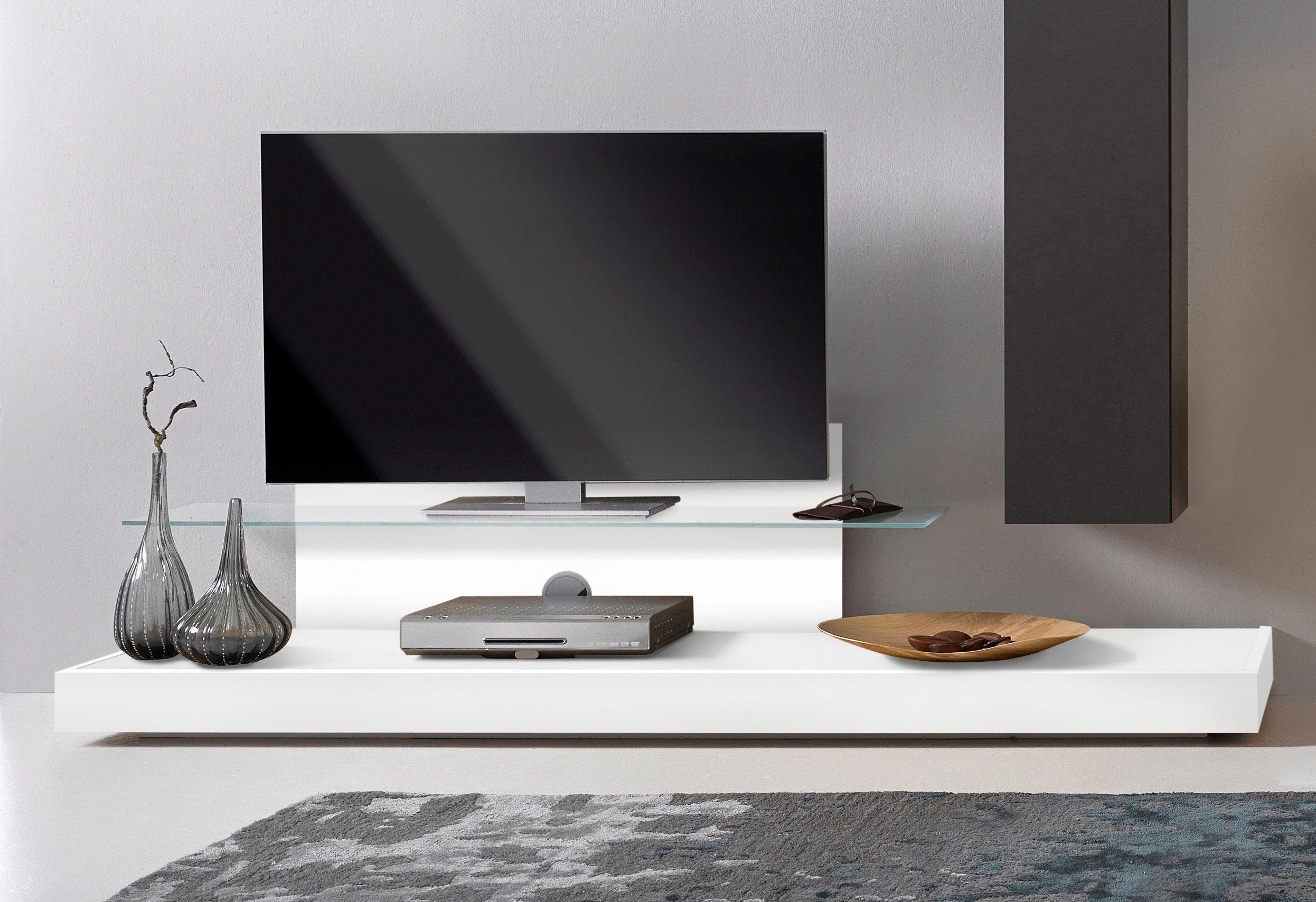 LC TV-Podest mit Glasboden