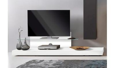 LC TV-Board »Cube«, mit Glasboden kaufen
