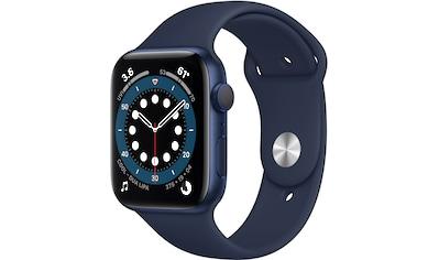Apple Watch »Series 6 GPS, Aluminiumgehäuse mit Sport 40mm«, (Watch OS 6 inkl.... kaufen