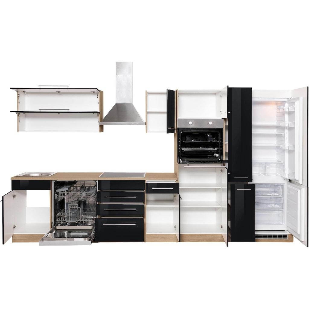 HELD MÖBEL Küchenzeile »Eton«, ohne E-Geräte, Breite 360 cm