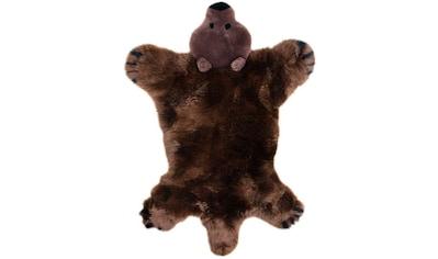 Heitmann Felle Fellteppich »Spielteppich Bär«, fellförmig, 40 mm Höhe, Kinderteppich,... kaufen