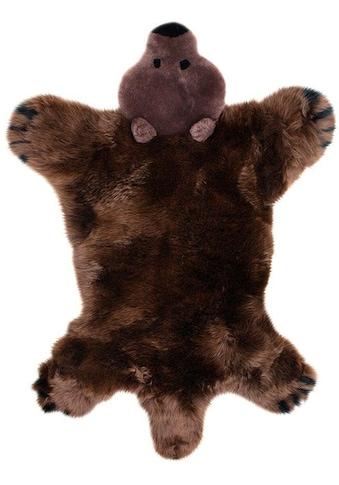 Fellteppich, »Spielteppich Bär«, Heitmann Felle, fellförmig, Höhe 40 mm, gegerbt kaufen
