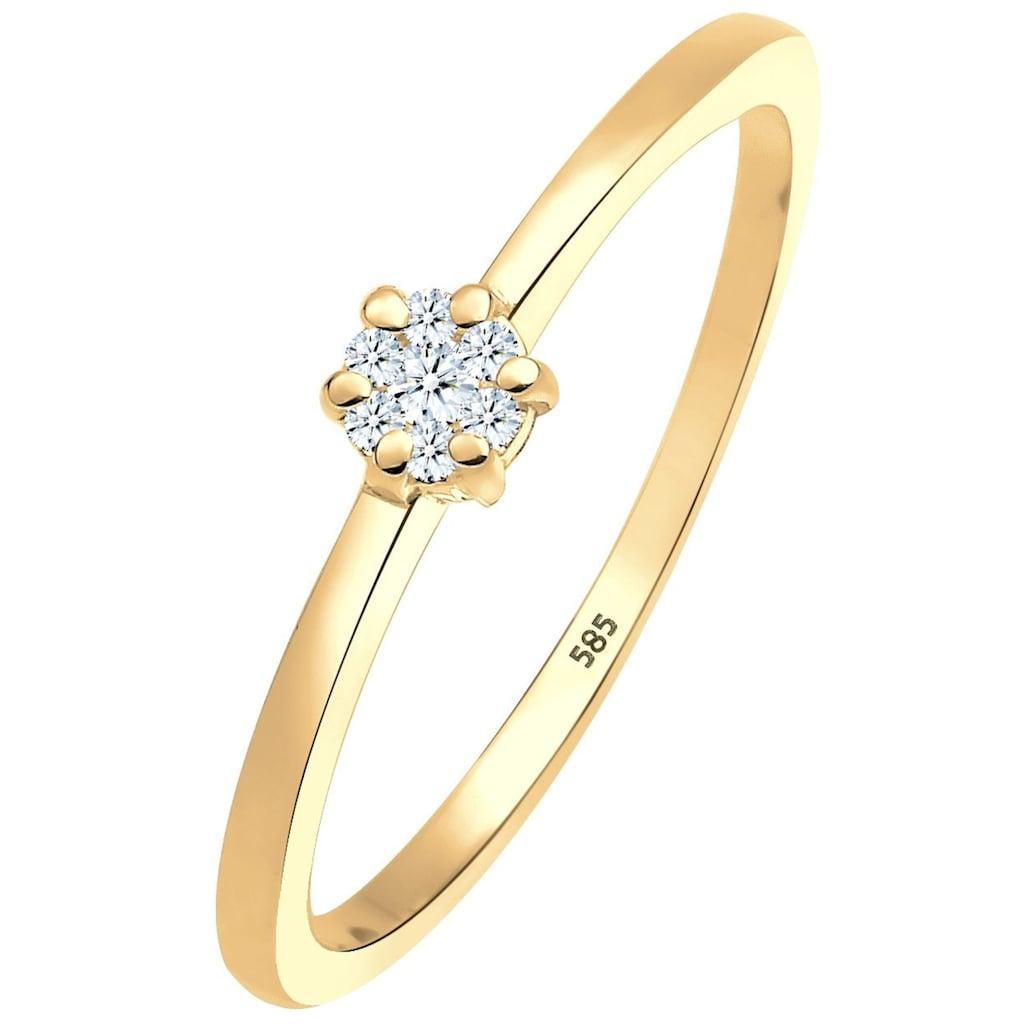Diamore Verlobungsring »0612341813«, mit funkelnden Brillanten
