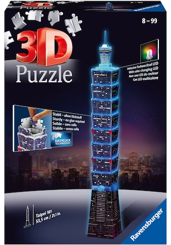 """Ravensburger 3D - Puzzle """"Taipei 101 bei Nacht"""" kaufen"""
