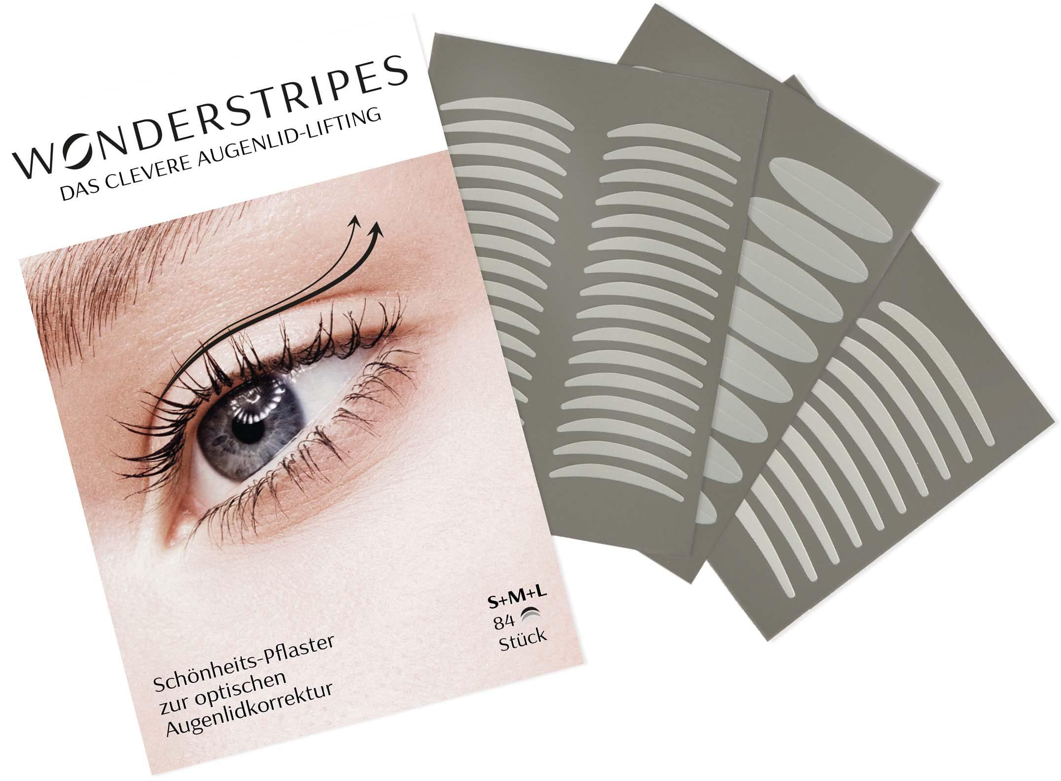 Wonderstripes Kombi-Packung Augenlid-Korrektur Pflaster in 3 verschiedenen Größen Preisvergleich