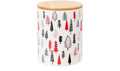 Keksdose »Tanne«, (1 tlg.), mit Holzdeckel und Silikondichtung kaufen
