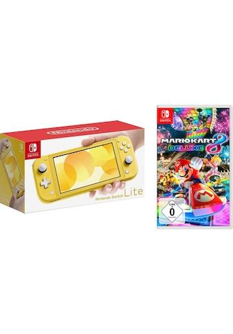Nintendo Switch Konsole »Lite«, inkl. Mario Kart 8 Deluxe kaufen