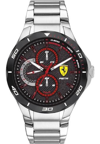 Scuderia Ferrari Multifunktionsuhr »PISTA, 830726« kaufen