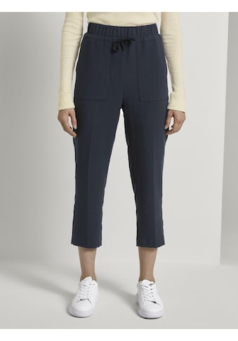 TOM TAILOR mine to five Chinohose »Comfort Fit Hose in 7/8-Länge« kaufen