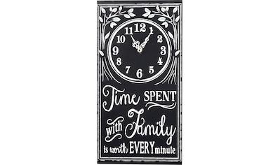 pajoma Wanduhr »Family- Time« kaufen