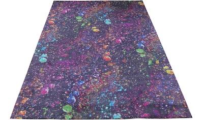Bruno Banani Teppich »Galaxy«, rechteckig, 8 mm Höhe, Druckteppich, Wohnzimmer kaufen