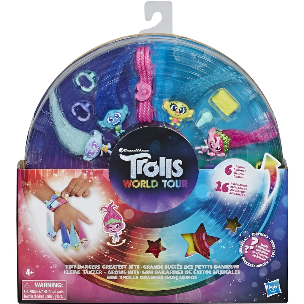 Hasbro Kreativset »DreamWorks Trolls World Tour, Tiny Dancers Greatest Hits«