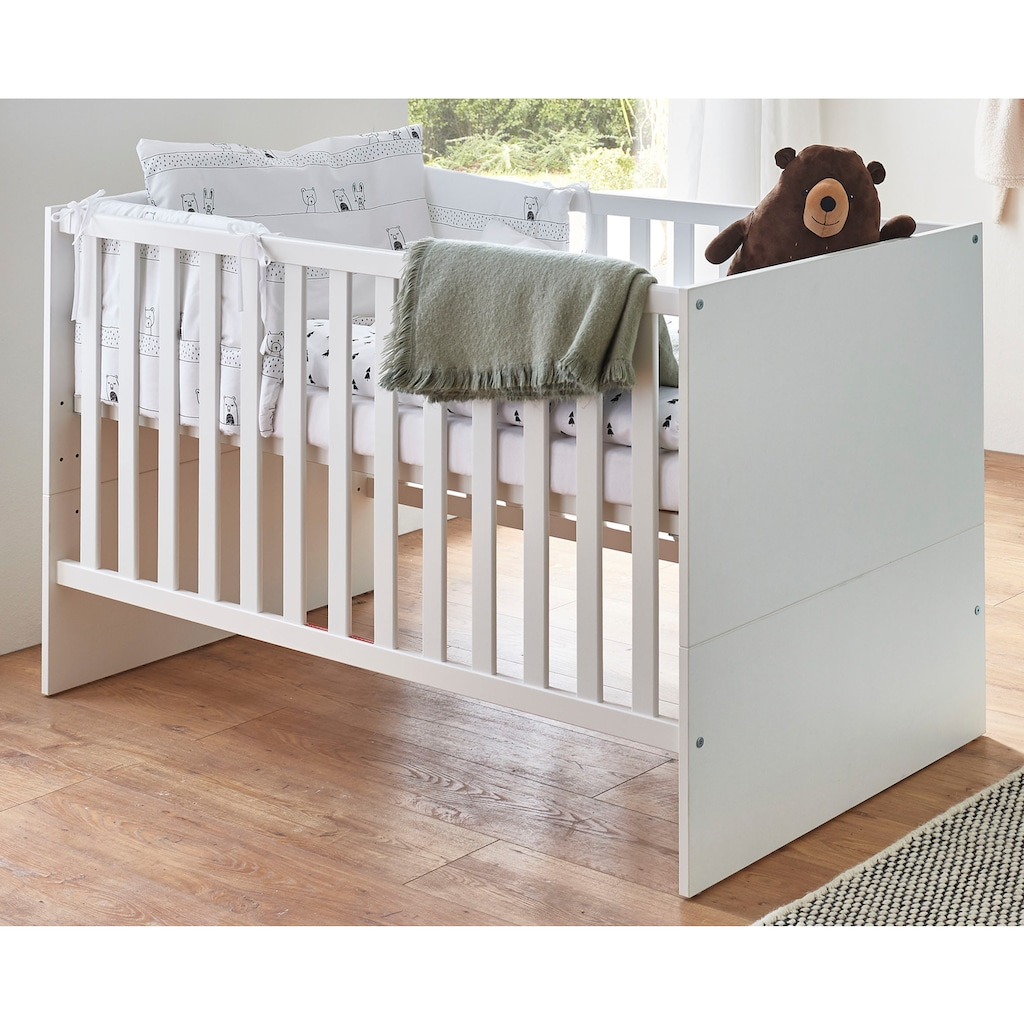 arthur berndt Babymöbel-Set »Kiara«, (Spar-Set, 2 St.), mit Kinderbett und Wickelkommode; Made in Germany