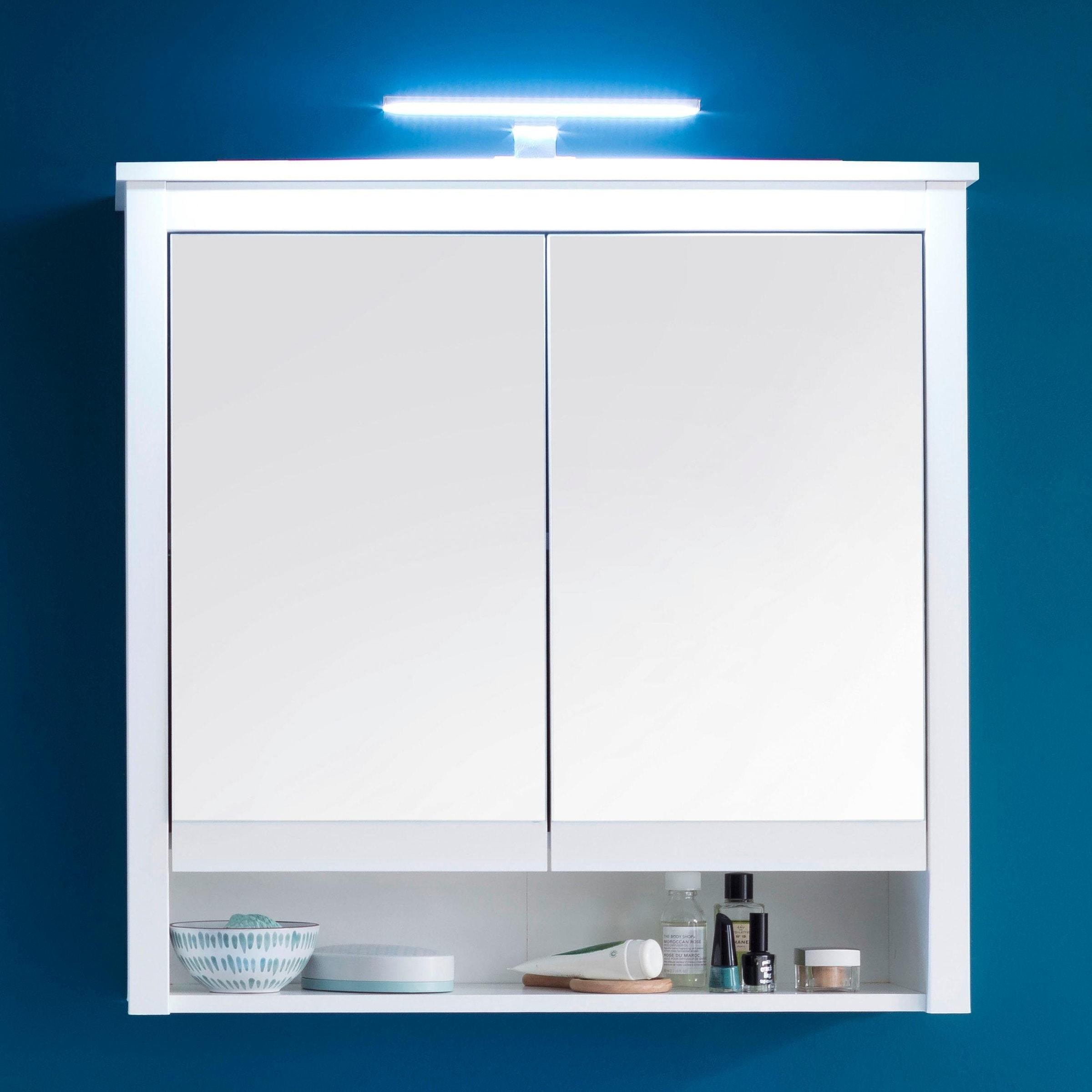 trendteam Spiegelschrank »Ole«, optional mit LED Beleuchtung