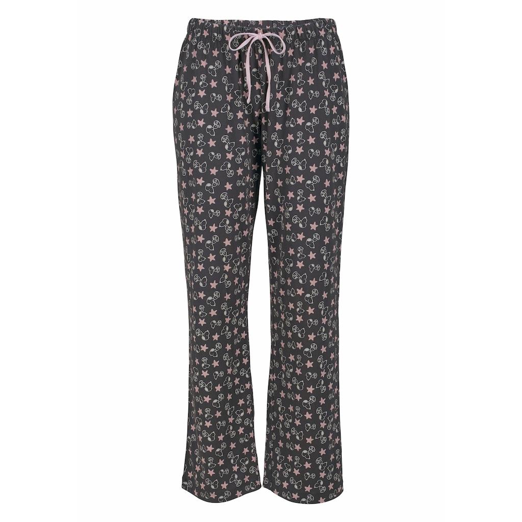 Peanuts Pyjama, in langer Form im niedlichen Snoopy-Design