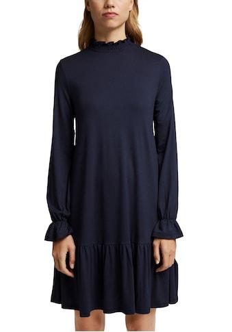 edc by Esprit Sweatkleid, mit Volants und Rüschen kaufen