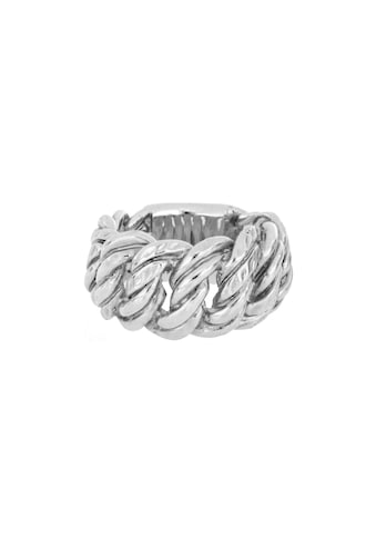 mashiah Fingerring »Ring«, Zwillingspanzer-Design, Bronze gelbvergoldet kaufen