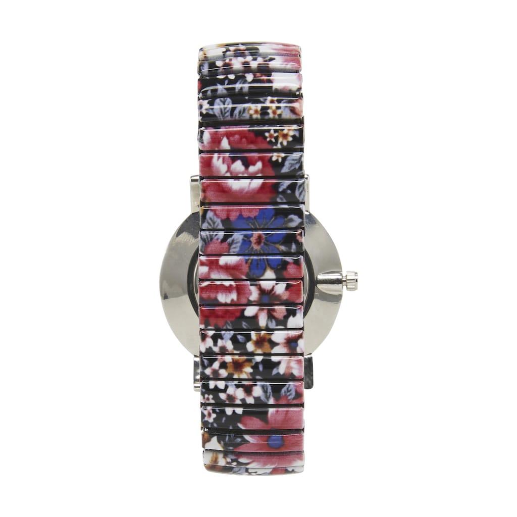 Armbanduhr mit Blumen