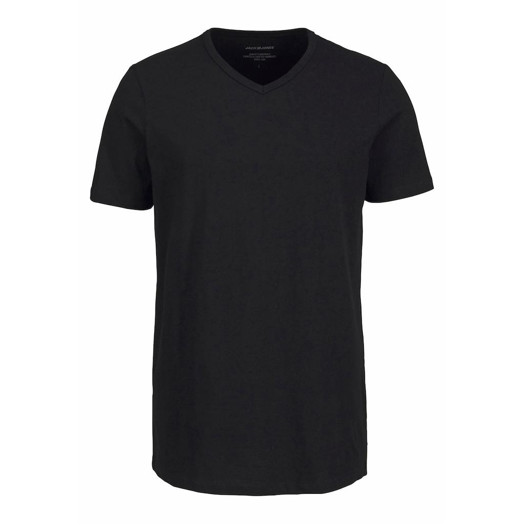 Jack & Jones T-Shirt »V-Neck«