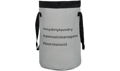 SPIRELLA Wäschesammler »Funwash«, Wäschesammler Hashtag, faltbar, 75 Liter kaufen