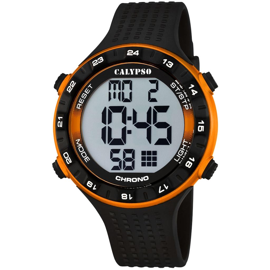 CALYPSO WATCHES Chronograph »Digital For Man, K5663/3«