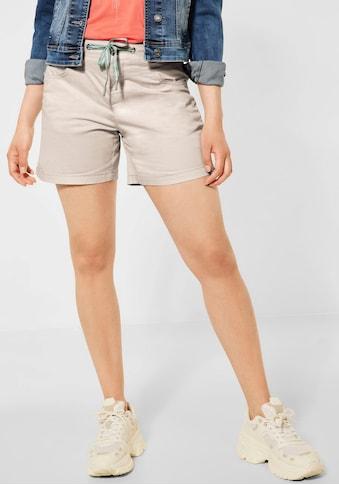 STREET ONE Shorts »Style Bonny«, mit Tunnelzug kaufen