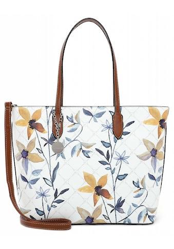 Tamaris Shopper »Anastasia Flower«, mit modischem Blumen Print kaufen
