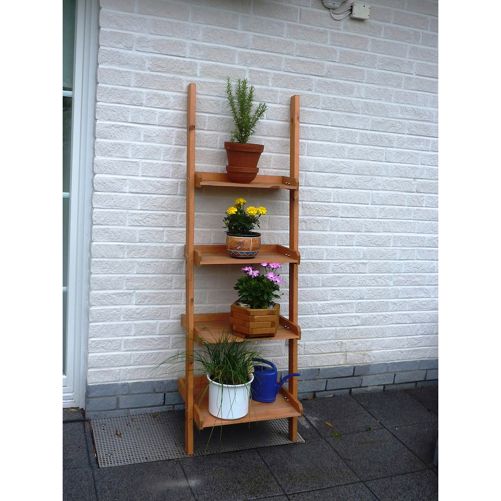 promadino Blumenständer »Blummentreppe Helma«, BxTxH: 58x46x177 cm