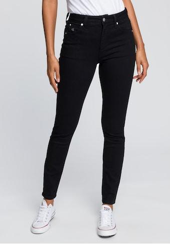 Calvin Klein Jeans Skinny-fit-Jeans »CKJ 010 HIGH RISE SKINNY«, mit CK Monogramm... kaufen