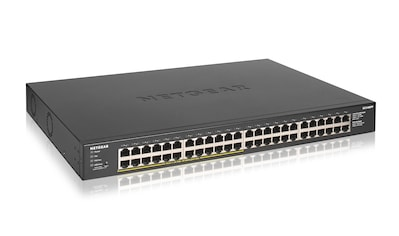 NETGEAR 48 - Port Gigabit Ethernet PoE+ Unmanaged Switch »48 Gigabit - Ports« kaufen