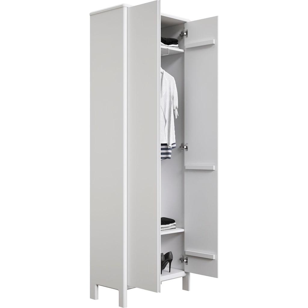 Home affaire Garderobenschrank »Livana«, aus Massivholz