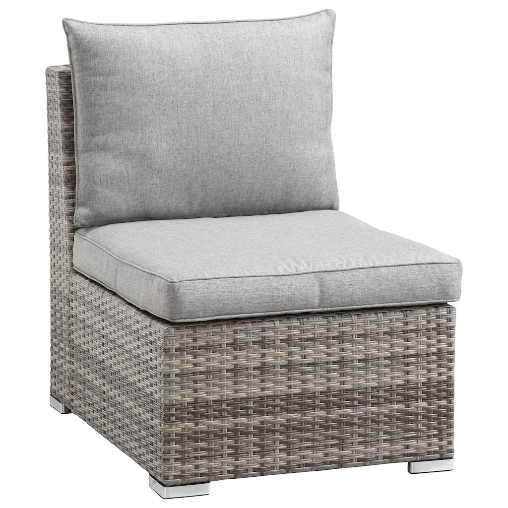 KONIFERA Loungeset »Florida«, 26tlg., 3-er Sofa, 2x 2-er Sofa, 2 Sessel,2 Hocker, 3 Tische