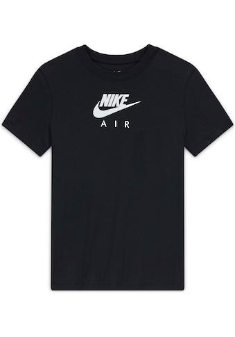 Nike Sportswear T - Shirt »GIRLS TEE NIKE AIR BOYFRIEND« kaufen