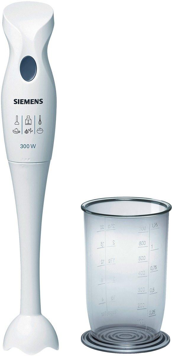SIEMENS Stabmixer MQ5B150 300 Watt   Küche und Esszimmer > Küchengeräte > Rührgeräte und Mixer   Weiß   Siemens