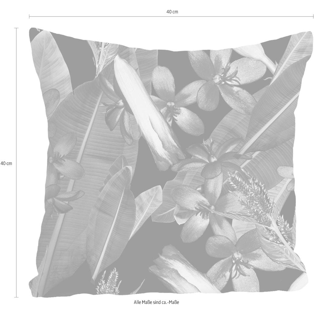 queence Kissenhülle »»Blüten & Blätter««, (1 St.)