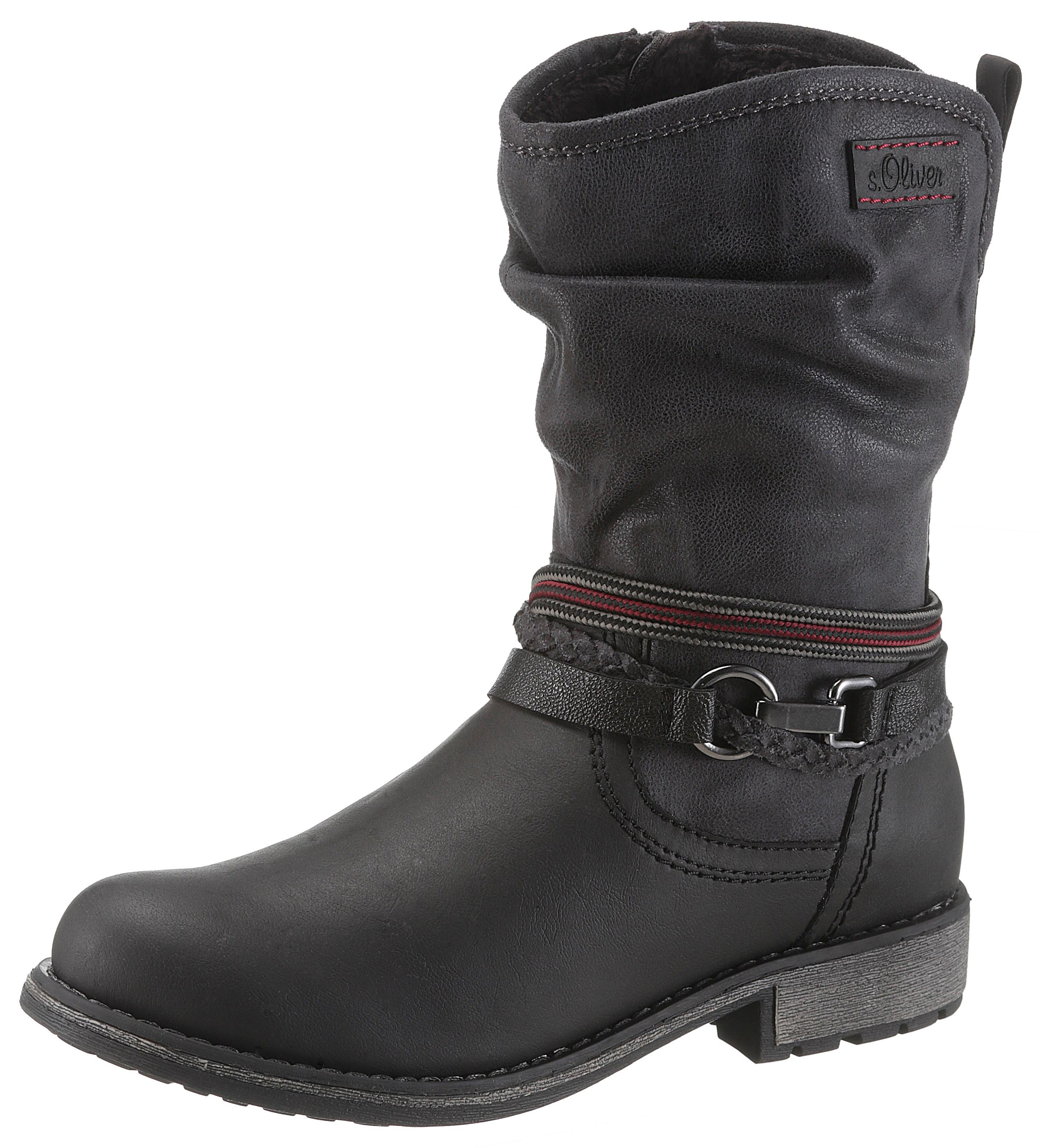 sOliver RED LABEL Bikerboots | Schuhe > Boots > Bikerboots | Schwarz | S.Oliver Red Label