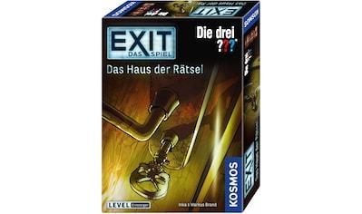 Kosmos Spiel »Exit, Die drei ???, Das Haus der Rätsel«, Made in Germany kaufen
