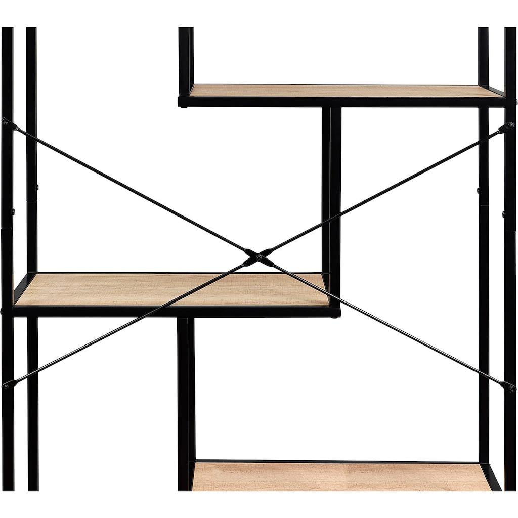 my home Standregal, 6 asymmetrische Böden