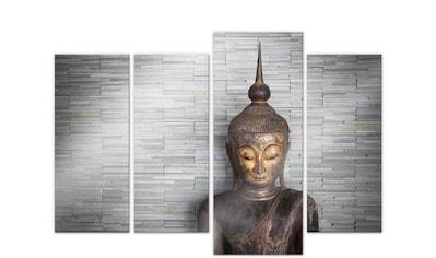 Wall-Art Mehrteilige Bilder »Thailand Buddha Set (4-teilig)«, (Set, 4 St.) kaufen