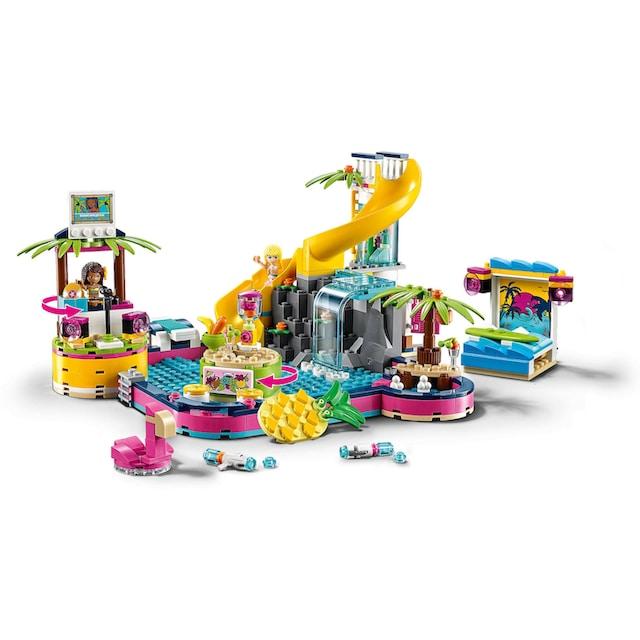 "LEGO® Konstruktionsspielsteine ""Andreas Pool-Party (41374), LEGO® Friends"", Kunststoff, (468-tlg.)"