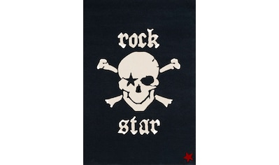 Rock STAR Baby Kinderteppich »RS2385-1«, rechteckig, 15 mm Höhe, handgearbeiteter... kaufen