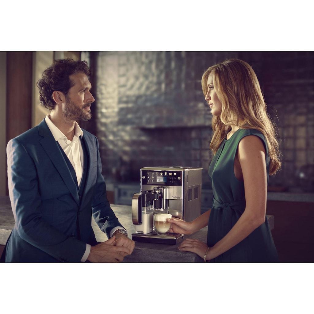 Saeco Kaffeevollautomat »SM5573/10 PicoBaristo Deluxe, integriertes Milchsystem, edelstahl«